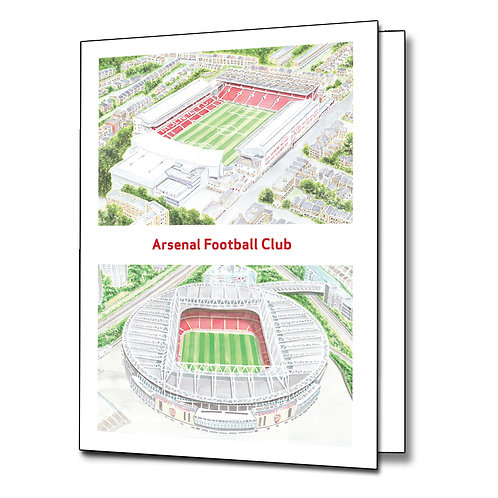 Arsenal - Greetings Card Portrait, A5/A6
