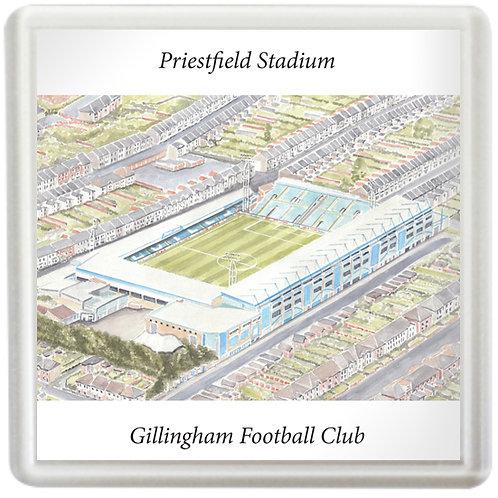 Gillingham Football Club - Priestfield Stadium - Coaster