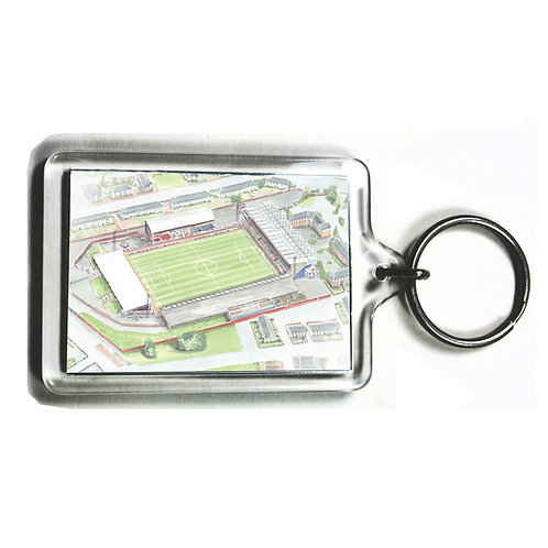 St Mirren FC - Love Street Stadium - Keyring