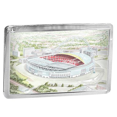 Wembley Stadium, London - Fridge Magnet
