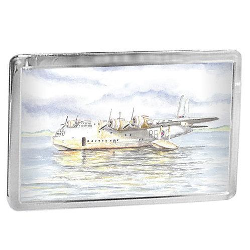 Short Sunderland Flying Boat - Fridge Magnet