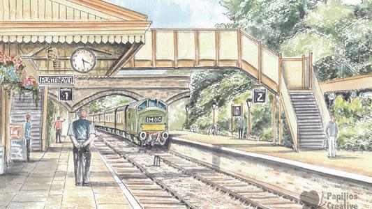 Toddington Station, Gloucestershire Warwickshire Railway
