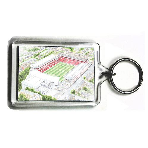 Arsenal - Arsenal Stadium, Highbury - Keyring