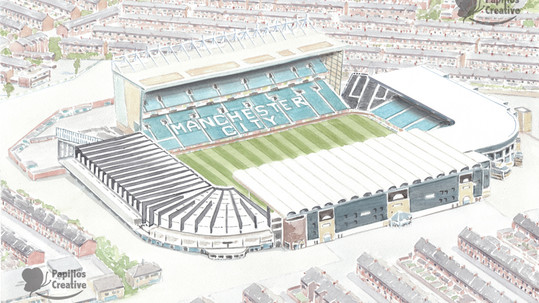 Manchester City FC - Maine Road