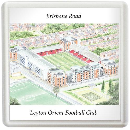 Leyton Orient  - Brisbane Road - Coaster