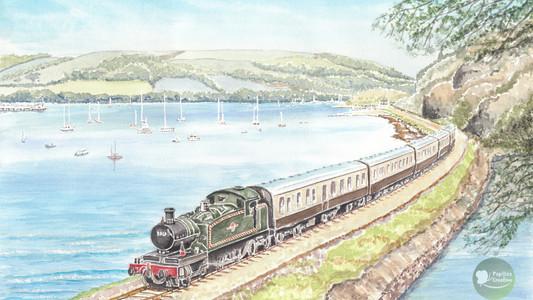 Steam Journey Down To Kingswear