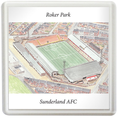 Sunderland AFC - Roker Park - Coaster
