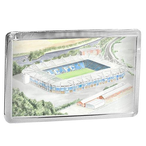 Leicester City - The King Power Stadium - Fridge Magnet