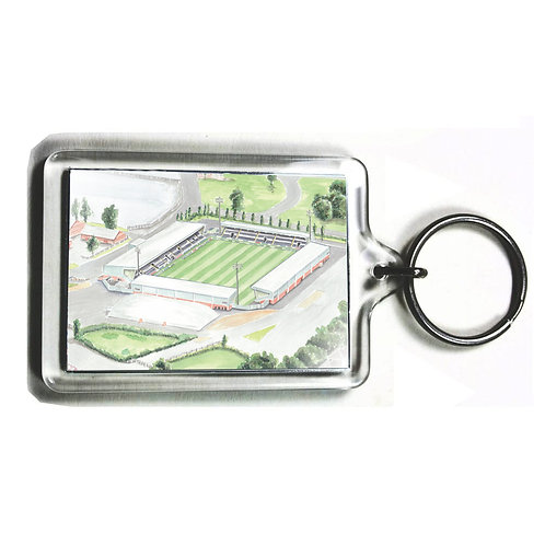 St Mirren Football Club - St Mirren Park - Keyring