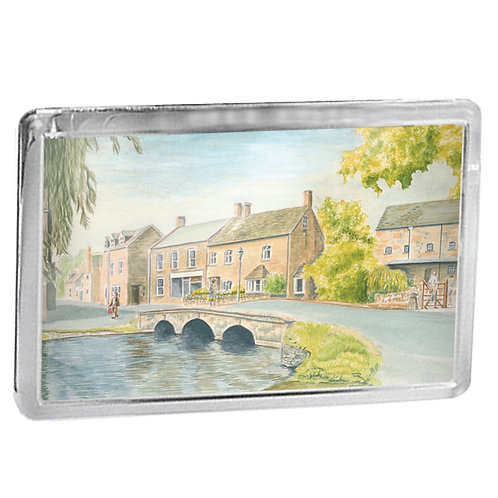 Bourton-On-The-Water - Fridge Magnet