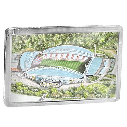 Huddersfield Town Football Club - Kirklees Stadium - Fridge Magnet