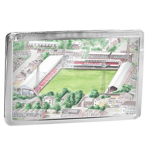 Brentford - Griffin Park - Fridge Magnet
