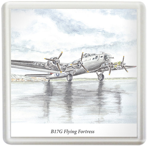 B17G Flying Fortress - Coaster