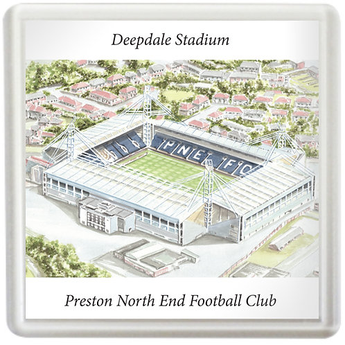 Preston North End Football Club - Deepdale Stadium - Coaster