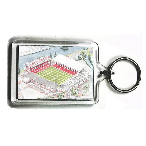 Nottingham Forest - City Ground - Keyring