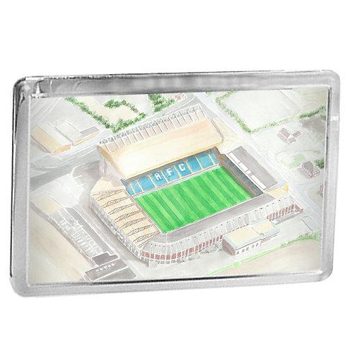 Leeds United - Elland Road - Fridge Magnet