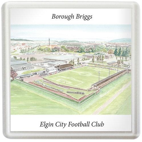 Elgin City Football Club - Borough Briggs - Coaster