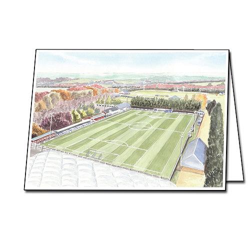 Swindon Supermarine,  Webbswood Stadium - Greetings Card Landscape, A5/A6