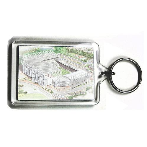 Newcastle United - St James Park - Keyring