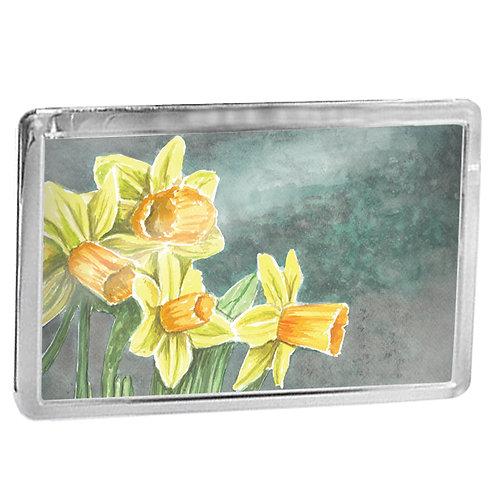 Daffodils - Fridge Magnet