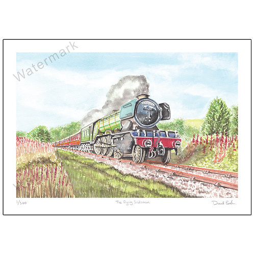 The Flying Scotsman,  Print A4 or A3