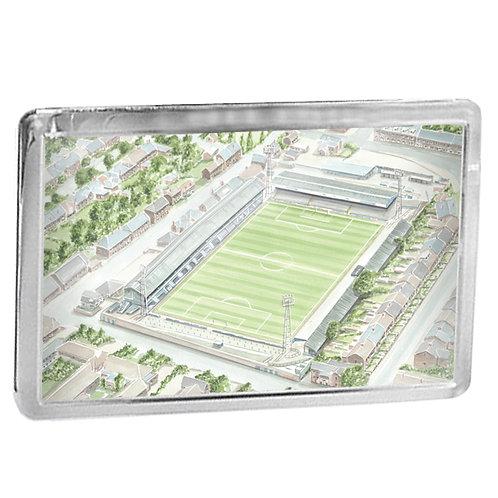 Chesterfield Football Club, Saltergate Recreation Ground - Fridge Magnet