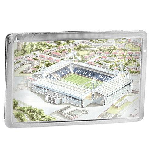 Preston North End Football Club - Deepdale - Fridge Magnet