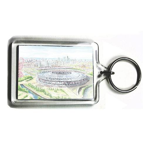 West Ham United - The London Stadium - Keyring