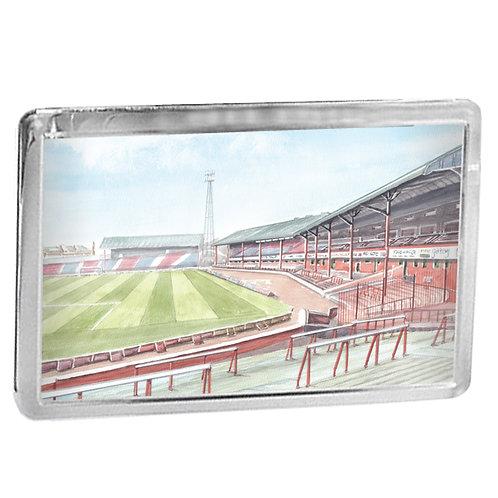 Dundee Football Club The Archibald Leitch Stand Dens Park - Fridge Magnet