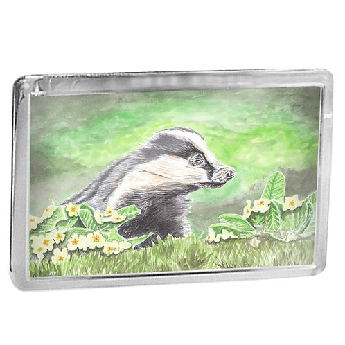 Badger - Fridge Magnet