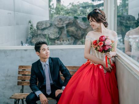 婚攝推薦分享 | 感謝Daco攝影與Ena新秘 讓我有美美的午宴