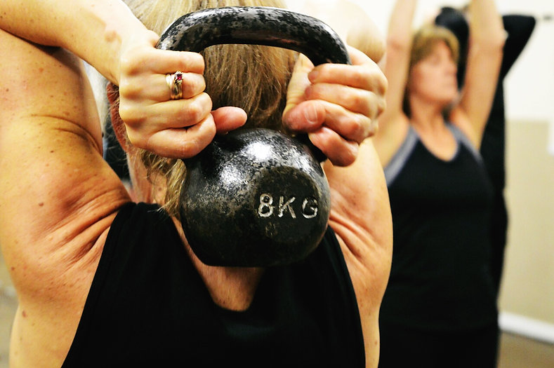 Kettlercise Fitness Classes in Burbage