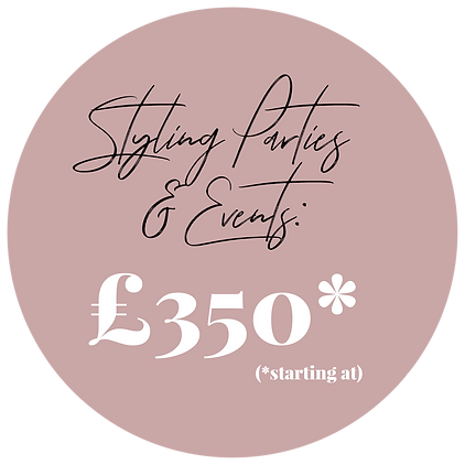 Dalry Rose Styling Styling Parties & Eve