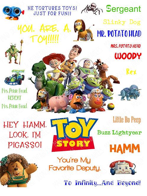 Toy Story Fan Sheet #2