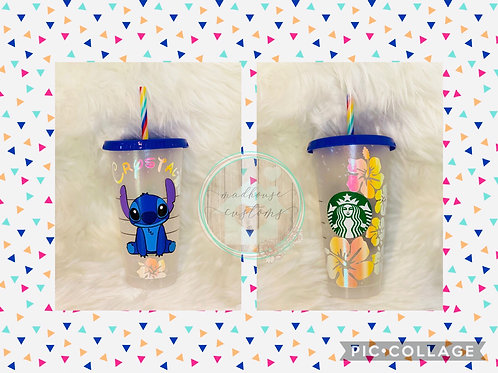 Stitch Starbucks Cup