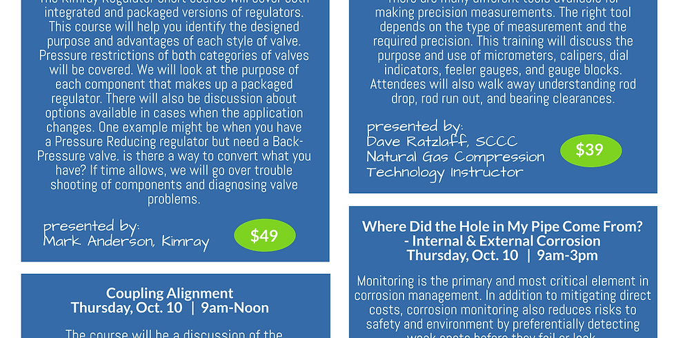 Southwest Energy October Short Course