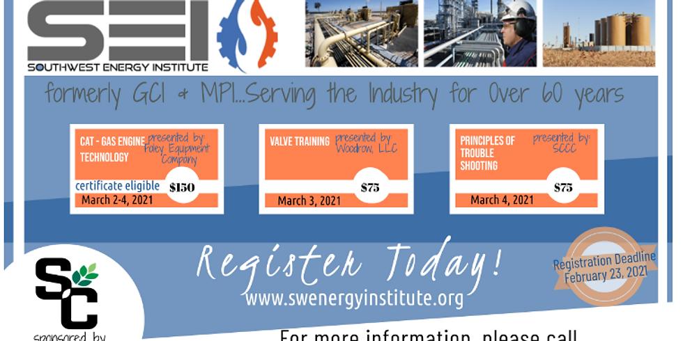 Southwest Energy March Short Course