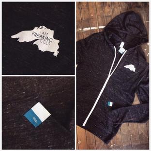I'm freaking cold hoodie ($54)
