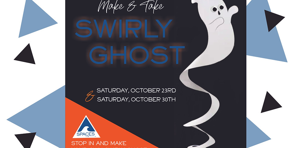 Make & Take: Swirly Ghost