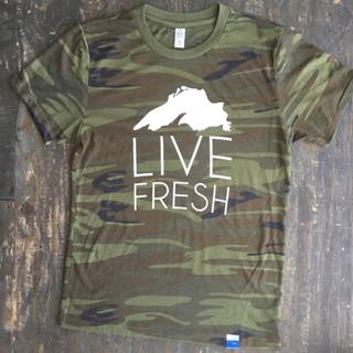 Live Fresh camo tee ($36)
