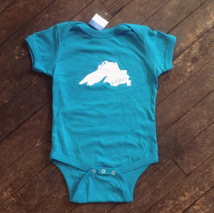 Lake Superior baby onesie ($18, 12 month)
