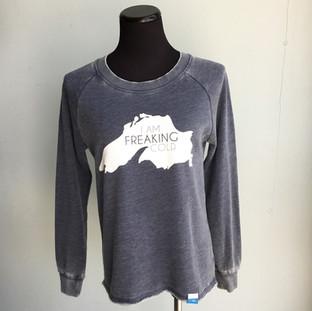 I'm freaking cold sweatshirt ($52)