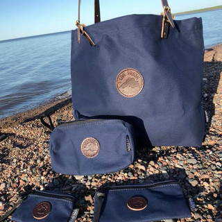 blue. + Duluth Pack