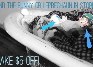 Bunny & Leprechaun Hunt