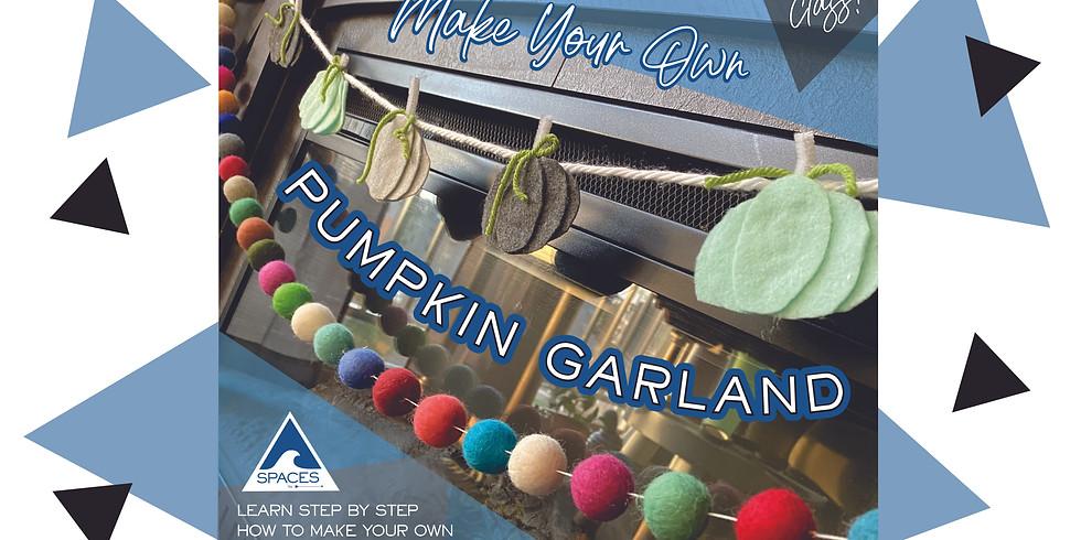 Make Your Own Pumpkin Garland