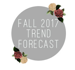 Fall 2017 Trend Forecast: Back to School