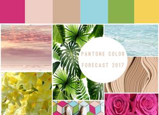 Pantone Colors Forecast 2017