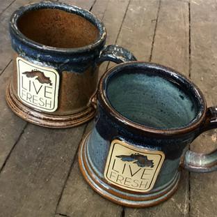 Live Fresh mug ($26, made in Wisconsin)