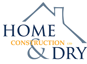Home and Dry Logo,Logo,Construction,home,home and dry construction,