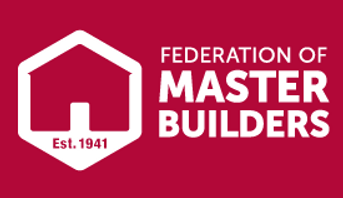 Federation of Master Builders,Red,Logo